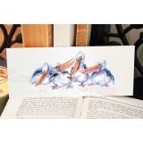 Australian Pelican Bookmark