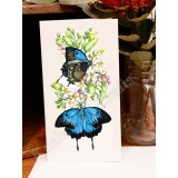 Ulysses Butterfly Greeting Card