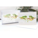 Green Tree Frog Notecards