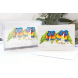 Rainbow Lorikeet Notecards